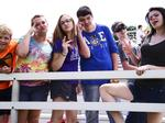 Eighth graders have a blast before summer