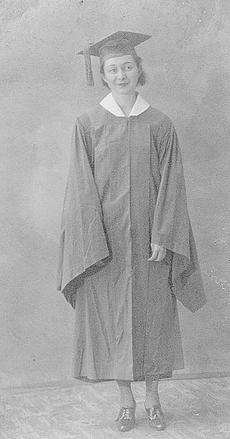 """<div class=""""source"""">photo submitted </div><div class=""""image-desc"""">Agnes Beach is a 1934 graduate of Williamstown High School.</div><div class=""""buy-pic""""></div>"""