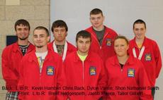 """<div class=""""source""""></div><div class=""""image-desc"""">Kevin Hamblin, Chris Back, Dylon Vance, Shon Nathaniel Smith, Brent Hedgespeth, Jacob Meece and Tailor Gilbert competed in the SkillsUSA competition.</div><div class=""""buy-pic""""></div>"""