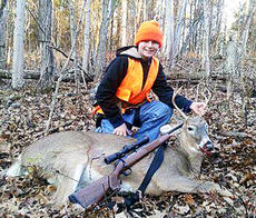 """<div class=""""source""""></div><div class=""""image-desc"""">Nick Dalton, 12, made his goal of fundraising $2,500 during the Boy Scouts Troop 712 annual fundraiser, so Scout Leader Roy Osborne kept his promise and took him deer hunting. Dalton shot this seven-point buck, his first deer, on Nov. 17 on Folsom-Jonesville Road. Photo submitted</div><div class=""""buy-pic""""><a href=""""/photo_select/16390"""">Buy this photo</a></div>"""