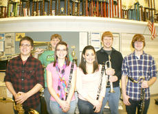 "<div class=""source""></div><div class=""image-desc""> Six Grant County High School Students were selected as All-State Band members.  (Left to right) Those picture are: Damien Hicks, Clayton Tipton, Brittany Epperson, Heather Shelton, Jacob Kinman and Luke Hampton.</div><div class=""buy-pic""><a href=""/photo_select/8944"">Buy this photo</a></div>"