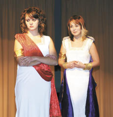"<div class=""source"">Ryan Naus</div><div class=""image-desc"">Ismene, portrayed by Jennifer Jump on the right, pleads with Antigone, played by Ariel Dorsey, to not go against the king's (her uncle Creon's) wishes with her plan to bury her brother, Polyneices.</div><div class=""buy-pic""><a href=""http://web2.lcni5.com/cgi-bin/c2newbuyphoto.cgi?pub=195&orig=Antigone1.jpg"" target=""_new"">Buy this photo</a></div>"