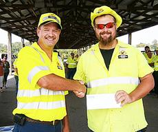 """<div class=""""source""""></div><div class=""""image-desc"""">Brian Magee was the winner of the single and double races at the 2012 Equipment Roadeo Competition on Aug. 9.</div><div class=""""buy-pic""""><a href=""""http://web2.lcni5.com/cgi-bin/c2newbuyphoto.cgi?pub=195&orig=BrianMagee_KevinRust_1stTruckPlow.jpg"""" target=""""_new"""">Buy this photo</a></div>"""
