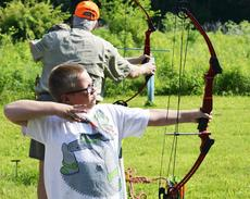 """<div class=""""source""""></div><div class=""""image-desc"""">John Stanfield of Crittenden releases his arrow and waits to see if he hit the target.</div><div class=""""buy-pic""""><a href=""""/photo_select/18131"""">Buy this photo</a></div>"""