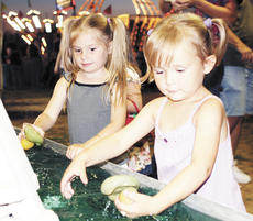 """<div class=""""source"""">Ryan Naus</div><div class=""""image-desc"""">Ava Coldiron and Kaitlynn Good enjoyed Monday night at the Grant County Fair. The fair has a new home on Baton Rouge Road in Williasmtown and will continue through Aug. 1</div><div class=""""buy-pic""""><a href=""""http://web2.lcni5.com/cgi-bin/c2newbuyphoto.cgi?pub=195&orig=Duckies.jpg"""" target=""""_new"""">Buy this photo</a></div>"""