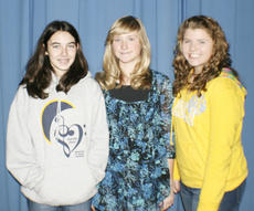 "<div class=""source""></div><div class=""image-desc"">Rashelle Chapman, Cassidy Lacey and Annelise Kinsey have be chosen for the 2011 All-State Junior High Chorus.</div><div class=""buy-pic""><a href=""/photo_select/8946"">Buy this photo</a></div>"