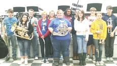 "<div class=""source""></div><div class=""image-desc"">Several members of the GCMS band were chosen for select band honors. Those students include, back row from left to right, Kendrick Herring (trombone), Nathan Witte (Saxophone), Harley Delaney (clarinet), Sadie Suel (Clarinet),  Ciara Nichols (Clarinet), Michael Brown (Bass Clarinet) and Bailey Tutorow (Trumpet); front row: Mariah Smith (Euphonium),  Shelby Conrad (Flute), Jaclyn Ball (French horn), Cassidy Mullins (Trumpet),  and Robin Rice (Trumpet). Not pictured: Chris Collopy (Euphonium) absent (photo by JoAnn Owens).</div><div class=""buy-pic""><a href=""/photo_select/8945"">Buy this photo</a></div>"