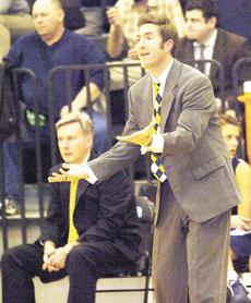 """<div class=""""source""""></div><div class=""""image-desc"""">Grant County coach Shawn West reacts to a defensive mistake by one of his players during the Feb. 28 regional tournament game.    Photos by John Herndon/Landmark News Service</div><div class=""""buy-pic""""><a href=""""/photo_select/17179"""">Buy this photo</a></div>"""