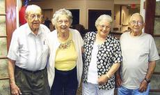 """<div class=""""source""""></div><div class=""""image-desc"""">Harry (Pete) Spegal and Eunice Lawrence Spegal, Kathleen Lawrence and Clifton Webster. Eunice and Kathleen are sisters.</div><div class=""""buy-pic""""></div>"""