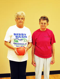 """<div class=""""source"""">Camille McClanahan</div><div class=""""image-desc"""">Helen Hudson Brown and Mary Catlett </div><div class=""""buy-pic""""><a href=""""/photo_select/15945"""">Buy this photo</a></div>"""