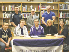 "<div class=""source"">Matt Birkholtz</div><div class=""image-desc"">Roman Jaconette signed his national letter of intent with Asbury University on March 21.</div><div class=""buy-pic""><a href=""/photo_select/9736"">Buy this photo</a></div>"