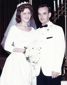 """<div class=""""source""""></div><div class=""""image-desc"""">Ella Rose Rector and Kenneth Lee Bobb  on their wedding day on May 19, 1962.</div><div class=""""buy-pic""""></div>"""