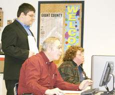 "<div class=""source"">Linda Lawrence</div><div class=""image-desc"">GCHS student and technology teacher Daniel Miller watches as his students, Wayne Horn and his mother, Pamela Miller learn to maneuver Excel spreadsheets.</div><div class=""buy-pic""><a href=""http://web2.lcni5.com/cgi-bin/c2newbuyphoto.cgi?pub=195&orig=Miller-Horn-Miller.jpg"" target=""_new"">Buy this photo</a></div>"