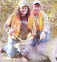 "<div class=""source""></div><div class=""image-desc"">Nicole Hankinson, 11 of Williamstown killed her first deer during the youth season. Her father Darian 'Hank' Hankinson accompanied Nicole on the hunt. The deer was mounted by Scott Fryman.</div><div class=""buy-pic""><a href=""/photo_select/8446"">Buy this photo</a></div>"
