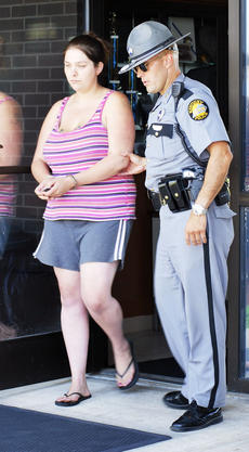 "<div class=""source""></div><div class=""image-desc"">Police escort Ashley Baker to the Grant County Detention Center following her arrest.</div><div class=""buy-pic""><a href=""/photo_select/15247"">Buy this photo</a></div>"