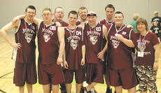 "<div class=""source"">Photo Submitted</div><div class=""image-desc"">The Jaguars hold up their silver medals at the Special Olympics State Tournament March 19 and 20 in Louisville. </div><div class=""buy-pic""></div>"