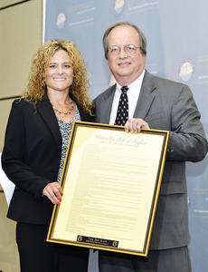 "<div class=""source""></div><div class=""image-desc"">Tara Boh Klute received the 2012 Public Advocate Award from state Public Advocate Ed Monahan at the Public Defender Education conference in Louisville. The award is a framed copy of the Kentucky Bill of Rights with an engraved placard bearing Klute's name and the award title. Photo submitted</div><div class=""buy-pic""></div>"
