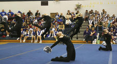 "<div class=""source"">Matt Birkholtz</div><div class=""image-desc"">Williamstown Dance team performs at the 2010 Jingle Bell Classic at Grant County High School. The Lady Demon dance team placed first in the small pom division. This marks the first competition for the program's history.</div><div class=""buy-pic""></div>"