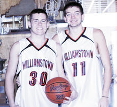 "<div class=""source"">Ryan Naus</div><div class=""image-desc"">WHS seniors Eric White and Storm Mason formed a bond over the five years they played for Williamstown.</div><div class=""buy-pic""><a href=""/photo_select/5938"">Buy this photo</a></div>"