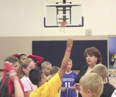 """<div class=""""source"""">Paige Taylor</div><div class=""""image-desc"""">BJ Walters answers students' questions during her physical education class.</div><div class=""""buy-pic""""><a href=""""/photo_select/10858"""">Buy this photo</a></div>"""