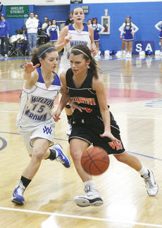 "<div class=""source"">Matt Birkholtz</div><div class=""image-desc"">Lady Demons senior guard Chelsea West drives towards the basket.</div><div class=""buy-pic""><a href=""/photo_select/8822"">Buy this photo</a></div>"