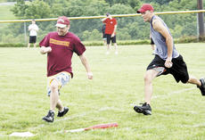 "<div class=""source"">Ryan Naus</div><div class=""image-desc"">Nick Huster hustles to home plate to beat the tag of Tyler Jones in the ninth annual Williamstown Wiffleball League.</div><div class=""buy-pic""><a href=""/photo_select/2158"">Buy this photo</a></div>"
