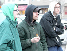 "<div class=""source"">Photo courtesy of the Cynthiana Democrat</div><div class=""image-desc"">Albert Chesnut, center, attended the candlight prayer vigil for his family on Feb. 19 at the Harrison County Courthouse.</div><div class=""buy-pic""></div>"