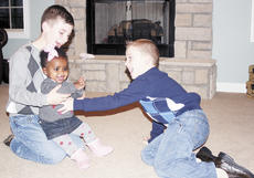 "<div class=""source"">Bryan Marshall, staff writer</div><div class=""image-desc"">Brennan and Bryson Stanley play with their baby sister, Lola.</div><div class=""buy-pic""><a href=""/photo_select/2799"">Buy this photo</a></div>"