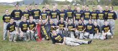 """<div class=""""source""""></div><div class=""""image-desc"""">The Grant County High School JROTC """"Dog Soldiers"""" brought home an overall championship trophy from a Raider competition in West Virginia. Team members include front row, Cadet Cummins; second row, Cadets Brazier, Marple, Fleckinger, Hill, Hopper, Roberts, Ezell, Obregon R., Neff, Elliot, Howard; third row,  Cadets Young T., Woods, Epperson, Smith S., Leonard, Greathouse, Lawn, Crockett, Jarrel, Simpson, Welle, Barker, Johnson and back row, Cadets Smith M., Brown, Branscum, Saylor, Haubner A., Malone, Ashcraft and Smith A.</div><div class=""""buy-pic""""><a href=""""/photo_select/19089"""">Buy this photo</a></div>"""