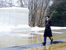 "<div class=""source""></div><div class=""image-desc"">Jonathon Gatewood is part of the 3rd U.S. Infantry Regiment that guards the tomb of the unknown soldier.</div><div class=""buy-pic""><a href=""http://web2.lcni5.com/cgi-bin/c2newbuyphoto.cgi?pub=195&orig=gatewood.jpg"" target=""_new"">Buy this photo</a></div>"