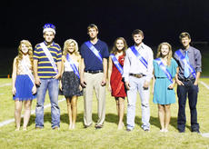 "<div class=""source""></div><div class=""image-desc"">The 2013 Grant County High School Football Homecoming Royalty include Queen Savanna Houser, King Luke O'Nan, Junior Princess Destiny Simons, Junior Prince Jordan Saylor, Sophomore Princess Hayley Leach, Sophomore Prince Cole O'Nan, Freshman Princess Brianna Smallwood, Freshman Prince Gabe Stillwell. Photo submitted </div><div class=""buy-pic""><a href=""/photo_select/18851"">Buy this photo</a></div>"