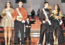 """<div class=""""source""""></div><div class=""""image-desc"""">Morgan Potter and Alec Dalton were chosen as the 2012-2013 WHS Homecoming King and Queen.  Jordan Burnes and Kristine Robertson were chosen as the 2012-2013 WHS Homecoming Prince and Princess</div><div class=""""buy-pic""""><a href=""""/photo_select/16661"""">Buy this photo</a></div>"""