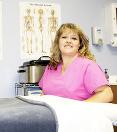 """<div class=""""source""""></div><div class=""""image-desc"""">Tranquility 95 N. Main Street Dry Ridge 859-242-0170 E-mail: tranquilitydayspaofky95@gmail.com Owner - Lisa Napier Service provided – Massage and spa modalities Hours of operation – By appointment Year established: 2013  Special features/interesting facts: Hot stone and body wraps Business philosophy: Serving your massage needs one hour at time.  </div><div class=""""buy-pic""""><a href=""""http://web2.lcni5.com/cgi-bin/c2newbuyphoto.cgi?pub=195&orig=lisa_napier.jpg"""" target=""""_new"""">Buy this photo</a></div>"""