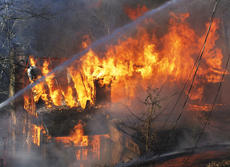 """<div class=""""source"""">Camille McClanahan</div><div class=""""image-desc"""">A fire of undetermined origin destroyed a home on Cash Drive. Two other fires within the last month left two Grant County families homeless.</div><div class=""""buy-pic""""></div>"""