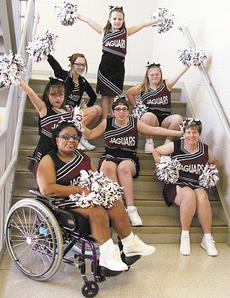 "<div class=""source""></div><div class=""image-desc"">The Grant County Jaquars brought home second place honors in the Special Olympics Regional Cheer Competition held Jan. 26 at Transylvania University in Lexington. Photo submitted by Marlene Stephen</div><div class=""buy-pic""><a href=""/photo_select/16850"">Buy this photo</a></div>"
