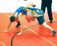 """<div class=""""source""""></div><div class=""""image-desc"""">Cody Miskell said he didn't let larger opponents intimidate him in his quest for a medal at the state wrestling tournament held Feb. 15 and Feb. 16 .</div><div class=""""buy-pic""""><a href=""""/photo_select/16988"""">Buy this photo</a></div>"""