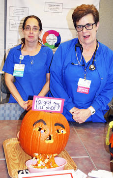 """<div class=""""source""""></div><div class=""""image-desc"""">Gina Magee and Cindy Jernigan of the MMU department won most original. </div><div class=""""buy-pic""""><a href=""""/photo_select/16107"""">Buy this photo</a></div>"""
