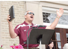 "<div class=""source""></div><div class=""image-desc"">Jeff Colon of Pure Life Ministries grasps a Bible as he gives an impassioned prayer on the steps of the Grant County Courthouse on May 2 in celebration of the National Day of Prayer. Photo by Bryan Marshall</div><div class=""buy-pic""><a href=""/photo_select/17786"">Buy this photo</a></div>"