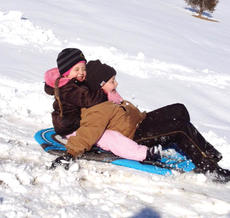 "<div class=""source""></div><div class=""image-desc"">Averi and Caidyn Roberts fly down a snowy hill in Corinth while enjoying a day off from school due to snow. More cold conditions and ice are predicted for the Grant County and Northern Kentucky area through the end of the week.</div><div class=""buy-pic""><a href=""/photo_select/19782"">Buy this photo</a></div>"