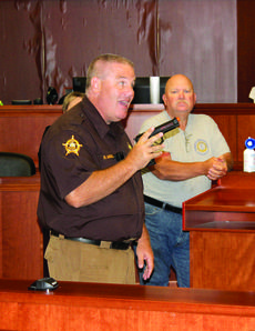"<div class=""source""></div><div class=""image-desc"">Grant County Sheriff's Deputy Robert Morgan leads an active-shooting training at the Justice Center.</div><div class=""buy-pic""><a href=""/photo_select/27377"">Buy this photo</a></div>"