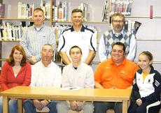 "<div class=""source"">Linda Lawrence</div><div class=""image-desc"">Dustin Mills signed his national letter of intent to play soccer at Union College Nov. 30.</div><div class=""buy-pic""></div>"