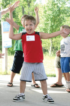 "<div class=""source""></div><div class=""image-desc"">Logan McCowan gets loose with some jumping jacks during the Start Smart camp.</div><div class=""buy-pic""><a href=""/photo_select/18324"">Buy this photo</a></div>"