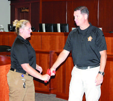 "<div class=""source""></div><div class=""image-desc"">Deputy Rob Ervin explains where to grab a gun from a perpetrator. Photos by Bryan Marshall</div><div class=""buy-pic""><a href=""/photo_select/27379"">Buy this photo</a></div>"