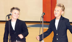 """<div class=""""source""""></div><div class=""""image-desc"""">Cayden and Brant Smithers take audiences on a musical journey through the decades with their first-place performance at the WES Talent Show. Photos by Bryan Marshall</div><div class=""""buy-pic""""><a href=""""http://web2.lcni5.com/cgi-bin/c2newbuyphoto.cgi?pub=195&orig=pic7_53.jpg"""" target=""""_new"""">Buy this photo</a></div>"""
