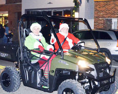 """<div class=""""source""""></div><div class=""""image-desc"""">Williamstown merchants sponsored a parade on Saturday night.  Photo by Jerry Morris</div><div class=""""buy-pic""""><a href=""""/photo_select/23769"""">Buy this photo</a></div>"""