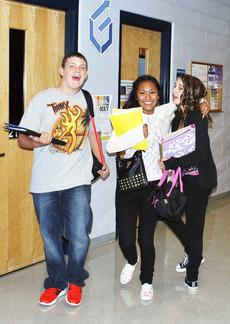 "<div class=""source""></div><div class=""image-desc"">GCHS ninth graders, Timmy Gripshover, Halienna Heath and Madelaine McNerney head to class. </div><div class=""buy-pic""><a href=""http://web2.lcni5.com/cgi-bin/c2newbuyphoto.cgi?pub=195&orig=pic_3_60.jpg"" target=""_new"">Buy this photo</a></div>"