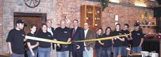 """<div class=""""source"""">Jamie Baker-Nantz</div><div class=""""image-desc"""">Representatives from the Grant County Chamber of Commerce and City of Williamstown held a ribbon cutting ceremony for Michael's Steakhouse in Williamstown. The owners are Mike and Becky Scroggins.</div><div class=""""buy-pic""""><a href=""""/photo_select/10134"""">Buy this photo</a></div>"""