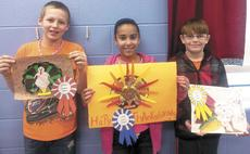 """<div class=""""source""""></div><div class=""""image-desc"""">Gobble Gobble - Fifth graders in Ashley Blaze's class at Sherman Elementary were assigned a family turkey project. The winners were Brandon Gibson, second; Lyndcee Ingguls, first and Ethan Gouge, third. </div><div class=""""buy-pic""""><a href=""""http://web2.lcni5.com/cgi-bin/c2newbuyphoto.cgi?pub=195&orig=ses_turkey_winners.jpg"""" target=""""_new"""">Buy this photo</a></div>"""
