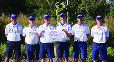 """<div class=""""source""""></div><div class=""""image-desc"""">The Braves finished 11th overall at the state tournament, which was held at Bowling Green Country Club Oct. 3-4. Photo provided </div><div class=""""buy-pic""""></div>"""