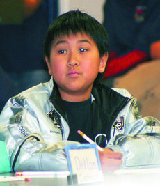 "<div class=""source""></div><div class=""image-desc"">Hanzon Zhou, a member of the Williamstown Elementary quick recall team, listens intently to a question.</div><div class=""buy-pic""><a href=""/photo_select/6079"">Buy this photo</a></div>"